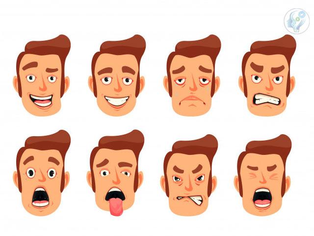مراقب حالت چهره خود باشید!